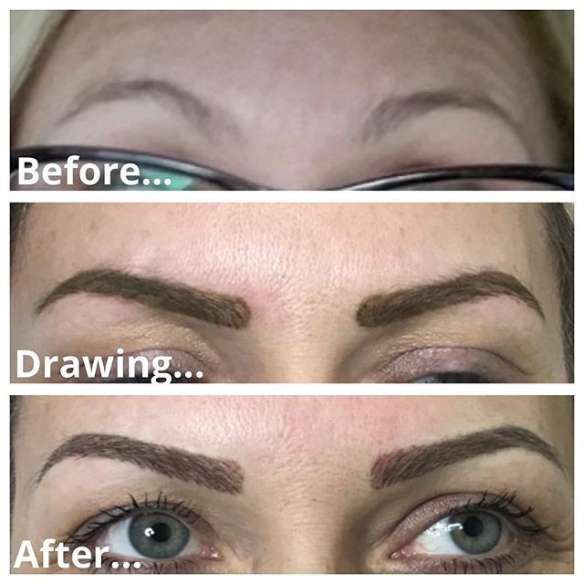 Natural Powder brows