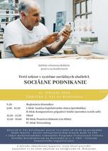 Pozvánka na konferenciu: Sociálne podnikanie