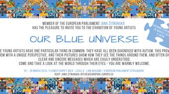 "Výstava ""Our blue universe"""