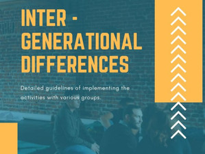 YOUTH on stage: Intergenerational Differences