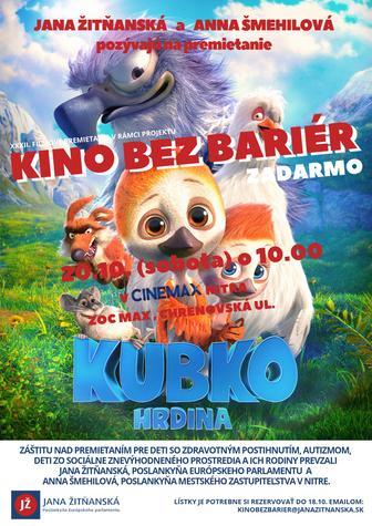 Kino bez bariér v Nitre