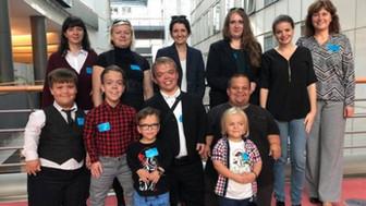 Palčekovia reprezentovali Slovensko na prvej konferencii ľudí nízkeho vzrastu v Európskom parlamente