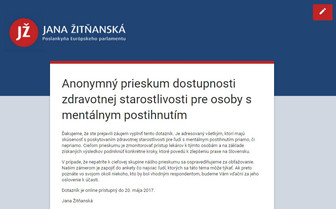 Zúčastnite sa na prieskume o poskytovaní zdravotnej starostlivosti na Slovensku!
