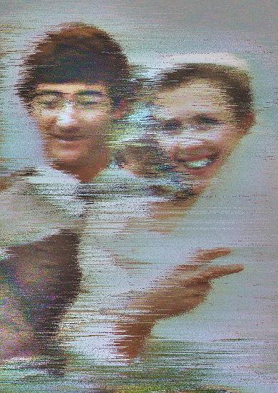 Joy (fleeting) (Original Artwork - 42 x 60cm)