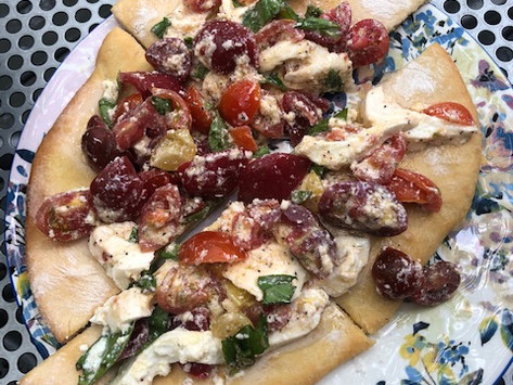 Flatbread--Perfect for the First Night of Summer