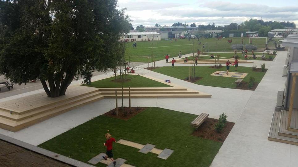 Lincoln Primary School Landscape Design & PM (P1)