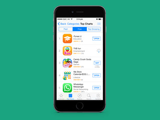 We Stick ranked Top 4 on Apple App Store