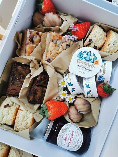 afternoon tea grazing box local delivery