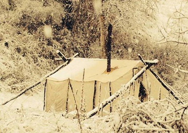 Elk Camp New Mexico JH Oufitters