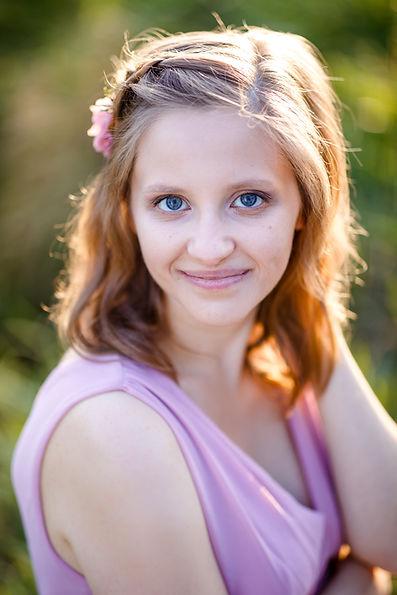 Portraitbild von Sylvia Brunner von Knips Fotografie die Hochzeitsfotografin und Portraitfotografin
