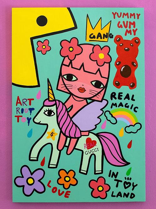 Amanda Toy - I Ride My Unicorn