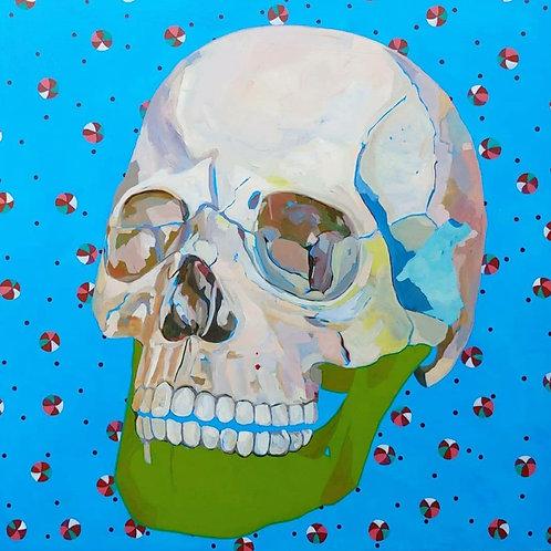 Tangeline - Blue Skull