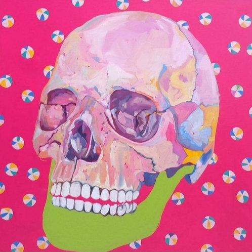 Tangeline - Pink Skull
