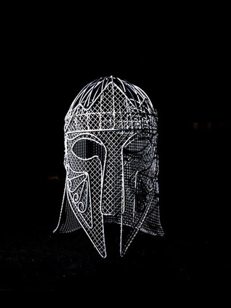 Fernando Cid de Diego - Mio Cid helmet