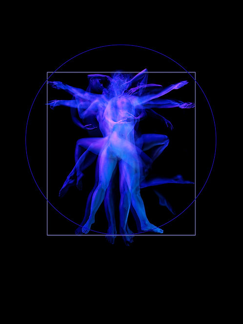 Giano Currie - Vitruvian Woman III