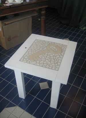 Mosaikki pöytä