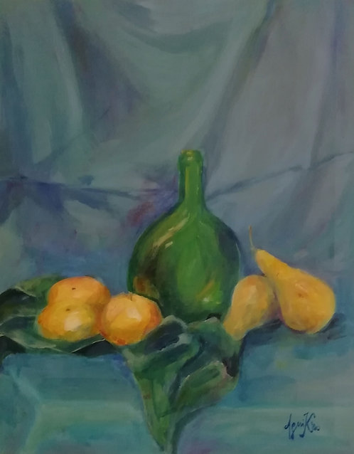 Asetelma Päärynät