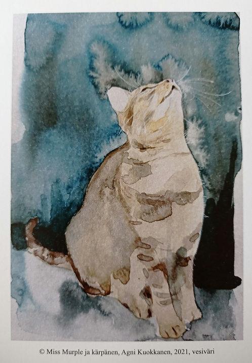 Miss Murple ja kärpänen vol2, postikortti