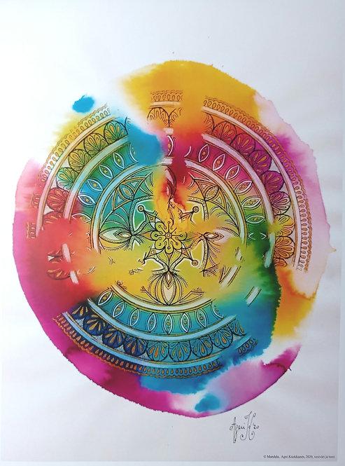 Juliste Mandala 1