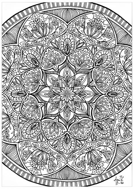Mandala 1, A4