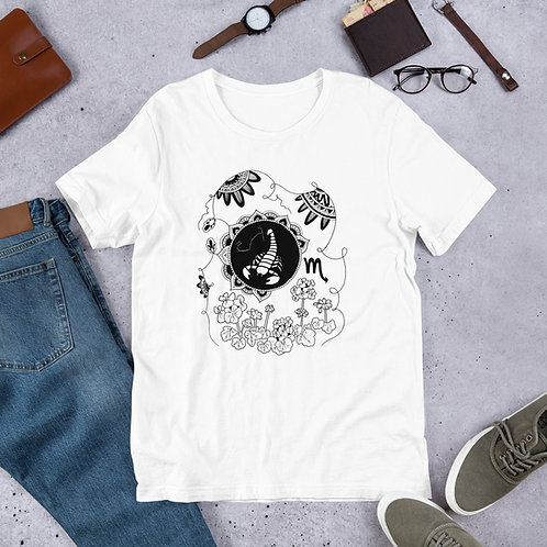Scorpio Illustration T-Shirt