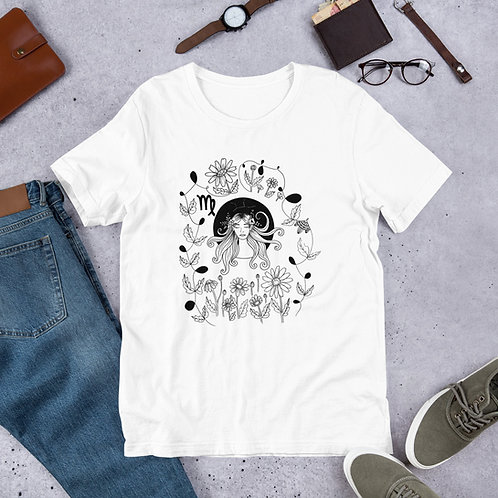 Virgo Illustration T-Shirt