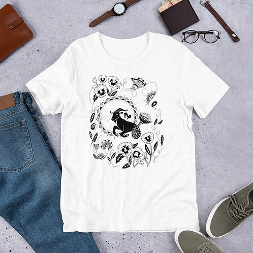 Capricorn Illustration T-Shirt