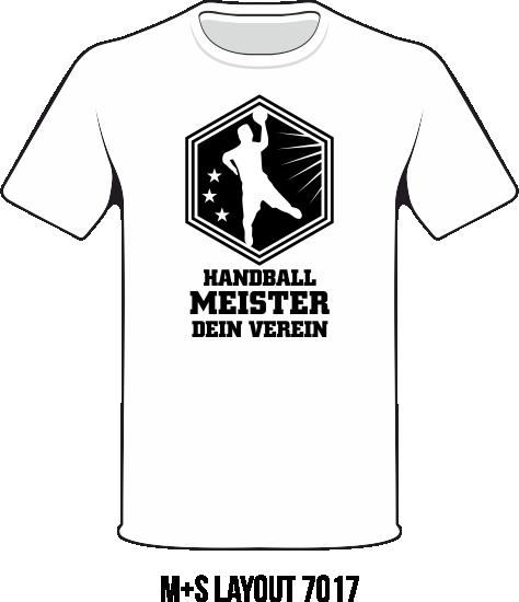 Meister Motive 2016 TRathmakers Shirt 7017 Handball