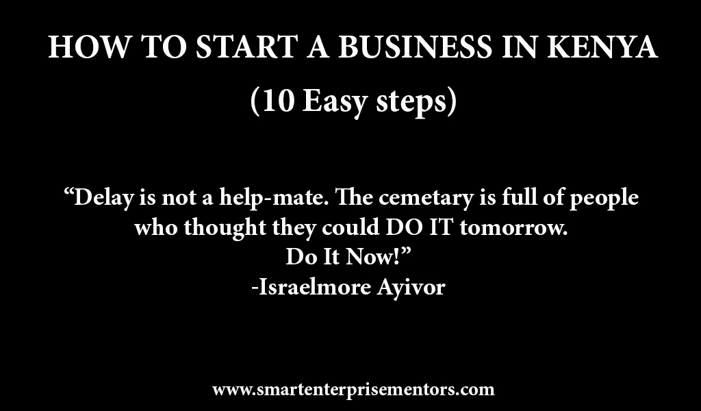 How to start a business in Kenya   Business Consultant