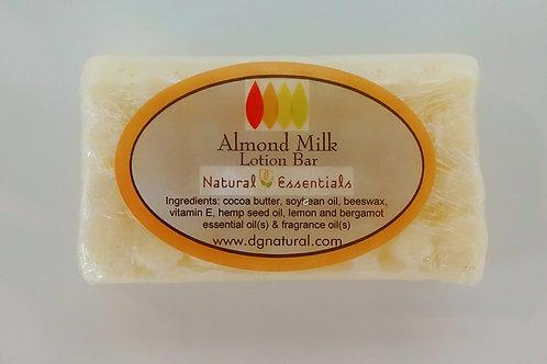 Almond Milk Lotion Bar