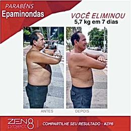 Ele perdeu 5,7k em 7 Dias só com a Fase DETOX do Programa ZEN BODI