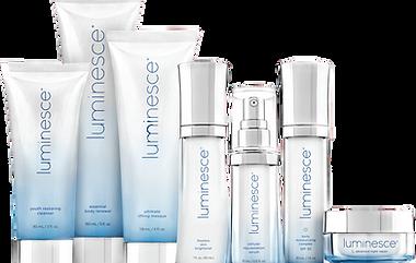 Luminesce, a linha de produtos da Jeunesse que ajusta a sua aparência ao seu espírito jovem.