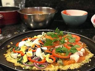 Receita de Pizza de Massa de Couve-Flor | Fase 2 IGNITE do Programa ZEN BODI