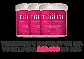 Lucro com 3 Naäras vendidos por dia | Revenda Naära | Maria da Graça Congro