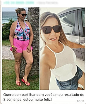Resultado de Emagrecimento com ZEN BODI | Maria da Graça Congro