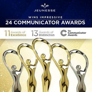 Jeunesse premiada com mais 24 Prêmios | Global Communicator Awards 2019