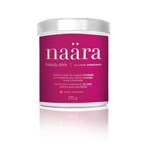 Pote de Naara com 12gr de Colágeno é um sabor delicioso! Experimnte!