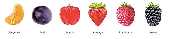 As 6 frutas do Naära Tangerina