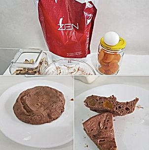 Doce de Chocolate no Microondas   Doces da Fase 1 DETOX do Programa ZEN BODI    Maria da Graça Congro