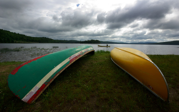 CANOES LAKE OF TWO RIVERS ALGON