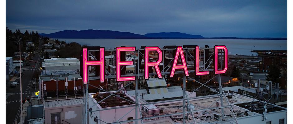 Herald Sign