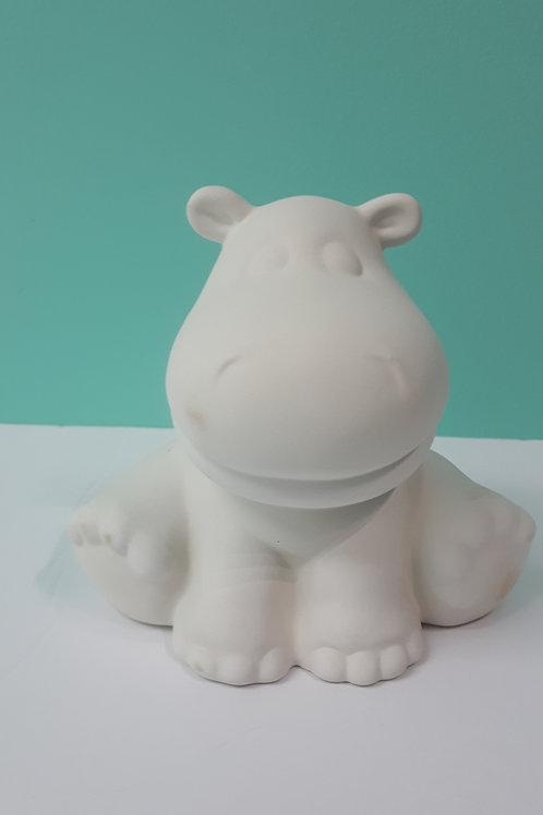 #108 Gros hippopotame