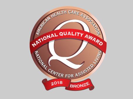 Piedmont Health Care Center Earns 2018 Bronze National Quality Award