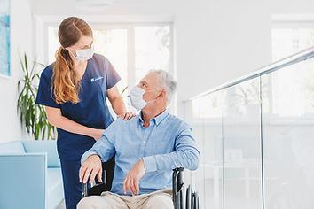 Piedmont Health Care Center Nurse with resident