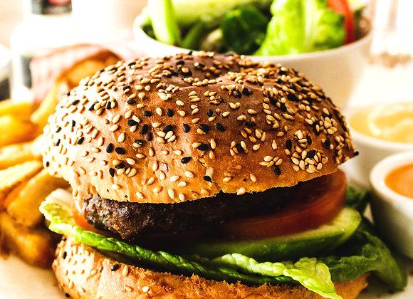 DIY Gourmet Veggie Burger (2 Medium Sized Burgers)