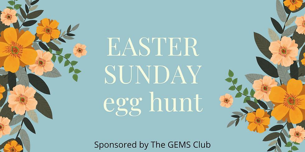 Easter Sunday Alleluia Egg Hunt