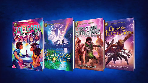 RICK RIORDAN PRESENTS BOOKS VELVET BACKG