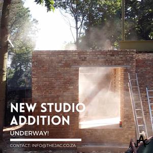 Studio Addition Underway!