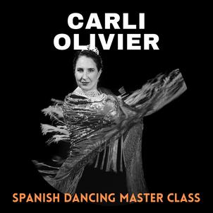 Spanish Dancing Master Class | Carli Olivier