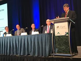 John Kerper moderates session at Agent Summit